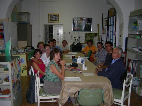 I soci fondatori dell'Associazione WWF Livorno