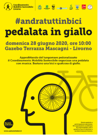 pedalata in giallo 2020